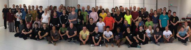 Lehrer und Themen des 18. Internationalem Push Hands Treffen